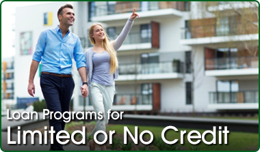 buy a home with no credit