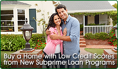 buying a home with poor credit