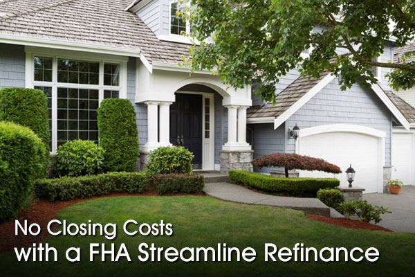 How is it possible to get an FHA loan when one person has no credit?