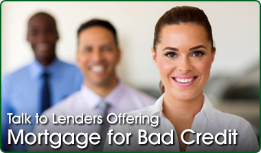 bad credit mortgage lender