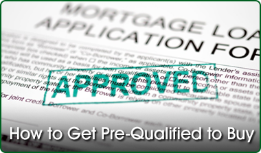 pre qualified to buy a home