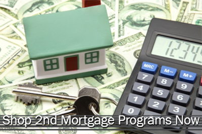 Shop 2nd Mortgage Programs Now