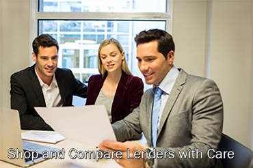 Shop and Compare Lenders with Care